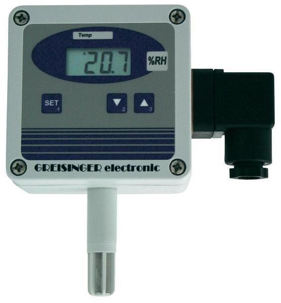 Greisinger GHTU-1R-MP Luftfeuchte-/Temperatur-Messumformer, Thermo-/Hygrometer, Wandausführung, Fü