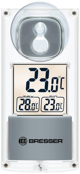 Bresser 7030100 Solar Fenster Thermometer: mit Saugnapf