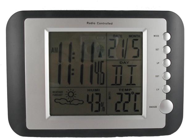 Koch Digitale Wetterstation DCF Funk-Uhr