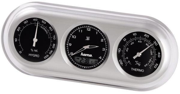 Hama Wetterstation Analog: AWS-100 silber 00113913