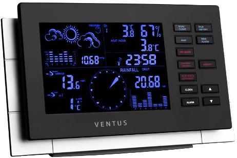 Ventus W 155 Wetterstation mit Regenmesser und Windmesser