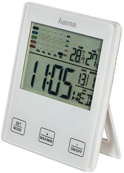 Hama TH-10 mit Schimmelalarm Weiß