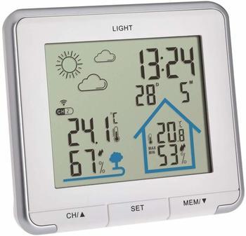 tfa-dostmann-wetterstation-funk-life-digitale-funkwetterstation-luftfeuchtigkeit-temperatur-mit-hintergrundbeleuchtung-wettersymbole-weiss