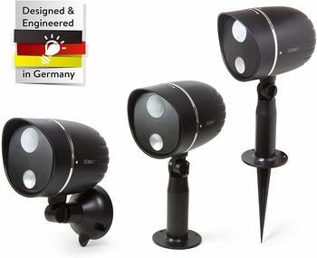 Technaxx LED-Aussenlampe Tx-107 Schwarz