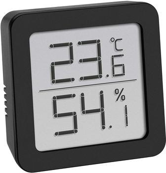 TFA Dostmann Thermo-Hygrometer, schwarz