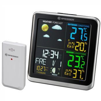 Bresser Wetterstation ClimaTemp TB Wetterstation mit LCD Farbdisplay