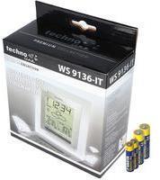 Technoline Premium Wetter Station WS 9136-IT mit Außensensor, inklusive 2x AA Mignon und 2x AAA Batterien