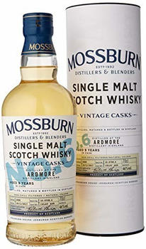 Mossburn 9 YO Vintage Cask No.6 Ardmore 2008 46% 0,70l