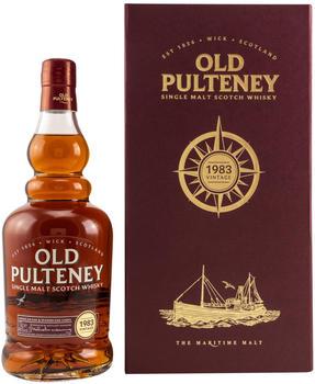 Old Pulteney Vintage 1983 Single Malt Whisky 46% 0,70l