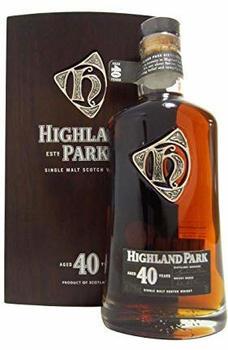 Highland Park 40 YO Whisky 47,5% 0,70l