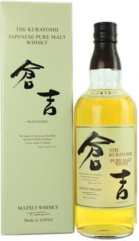 Matsui Whisky The Kurayoshi Pure Malt 0,7l 43%