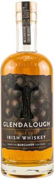 Glendalough Single Cask Irish Whiskey Grand Cru Burgundy Cask Finish 42% 0,7l