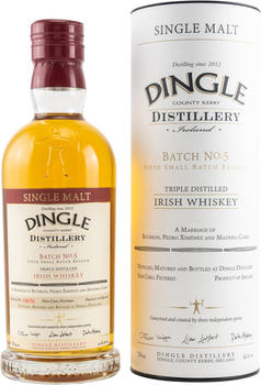 Dingle Batch No. 5 Irish Whiskey 46,5% 0,7l