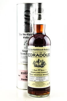 Edradour 2010 10 Jahre Sherry Single Cask The Un-Chillfiltered Collection Signatory 46% 0,7l