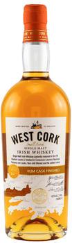 West Cork Rum Cask Finished 43% 0,7l