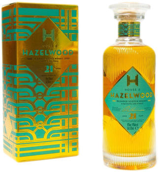 House of Hazelwood 21 Years Blended Scotch Whisky 0,5l 40%