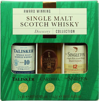 Diageo Classic Malt Discovery Collection 41.93% 3x50ml