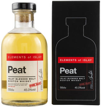 Elements of Islay Peat Pure Islay 45.0% 0,5l