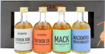 Mackmyra Set Classic 43.45 %4x50ml
