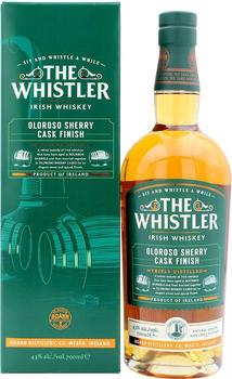 Boann The Whistler Triple Distilled Oloroso Sherry Cask Finish 43% 0,7l