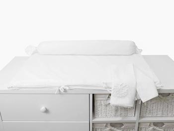 smarTrike smarTrike® Wickelauflage toTs Wickelmatte Pure White weiss,