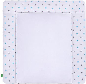LULANDO Bezug grey/Blue Stars 75 x 85 cm