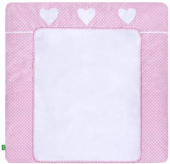 LULANDO Bezug pink with Dots 75 x 80 cm
