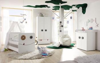 Hülsta Now! Babyzimmer Minimo Komplett-Set 2trg mit Wickelauflage