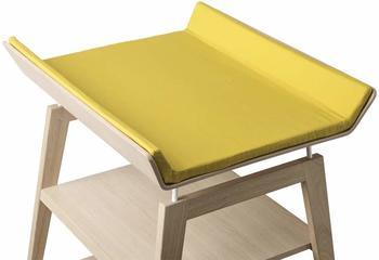 Leander Linea Wickelauflagen-Bezug Spicy Yellow