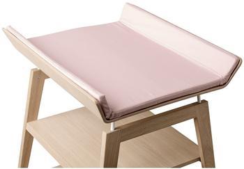 Leander Linea Wickelauflagen-Bezug Soft Pink