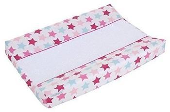 Little Dutch Wickelauflagenbezug Mixed Stars Pink