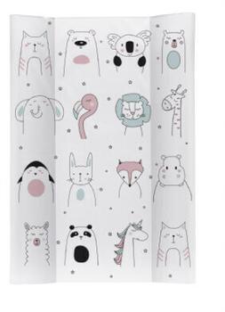 Rotho-Babydesign Keilwickelauflage Happy Faces (20099 0001 CX)