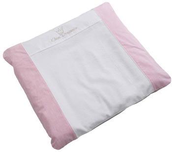 Be Be's Collection Bezug für Kunststoff-Wickelunterlage Kleine Prinzessin rosa