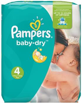 Pampers Baby Dry Gr. 4 (7-18 kg) 174 St.