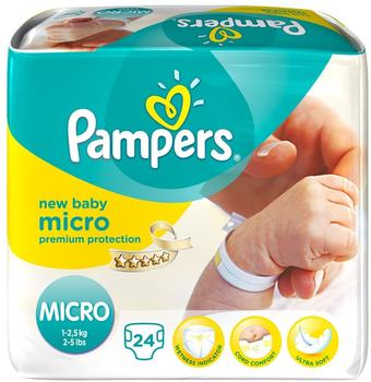 Pampers New Baby 1-2,5 kg 24 Stück