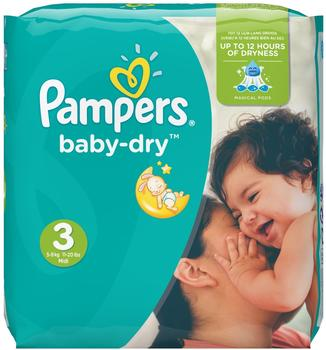 Pampers Baby Dry Gr. 3 (4-9 kg) 198 St.