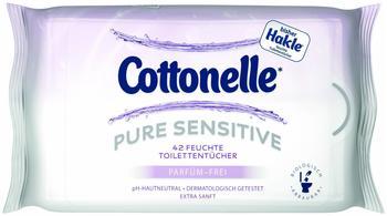 Cottonelle Feuchte Toilettentücher Pure Sensitive 6 x 42 Stück