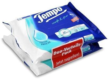 Tempo Feuchte Toilettentücher Sanft & Pur 2 x 42 Stück