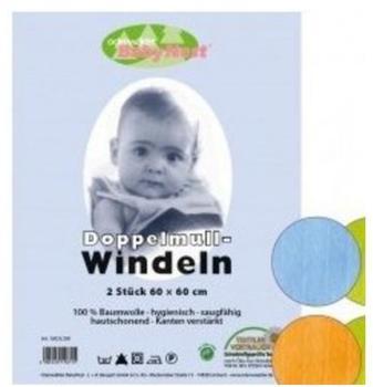 Odenwälder BabyNest Doppelmull-Windeln (60 x 60 cm)