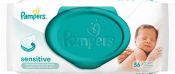 Pampers Sensitive Feuchttücher Vorteilspack 56 Stück