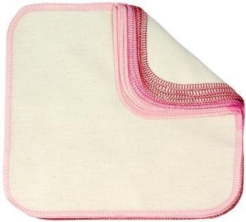 ImseVimse Waschlappen rosa-rot 12 Stück