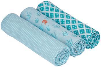 Lässig Swaddle & Burp Blanket L - Little Tree Fox