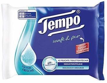 Tempo & Pur Feuchte Toilettentücher NF, 42 St