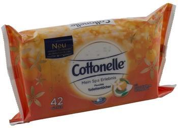 Cottonelle Feuchte Toilettentücher Mein Spa Erlebnis Orange 42 Stück