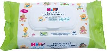Hipp Babysanft feuchtes Toilettenpapier 50 Stück