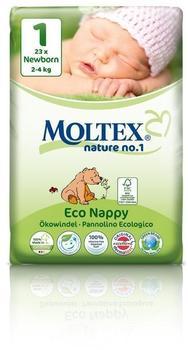 Moltex Nature No. 1 Newborn Bär (Größe 1) 23 St.