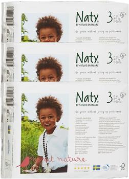 Naty Eco Windeln 4-9 kg 3 x 31 Stück