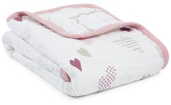 Aden + Anais Muslin Swaddle 120 x 120 cm (Pack of 4) Rock Star
