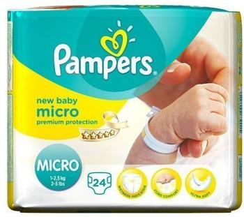 Pampers New Baby 1-2,5 kg 2 x 24 Stück
