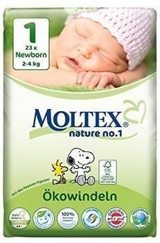 Moltex Nature No. 1 Newborn Peanuts (Größe 1) 6er x 23 St.